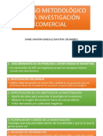 PROCESO METODOLÓGICO DE LA INVESTIGACIÓN COMERCIAL upiicsa