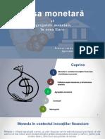 Masa monetară și agregatele în zona euro