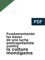 Fundamentando las bases de una lucha anticapitalista contra la cultura monógama