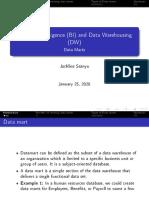 Lec2 Data Marts