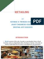 Retailing Assignment