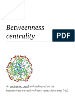 Betweenness centrality - Wikipedia