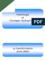 Diapo Mon Cours Hydrologie - Chap 6 Transformation Pluie débit.ppt