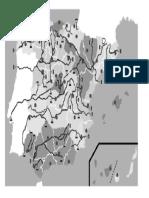 mapa mudo provincias rios