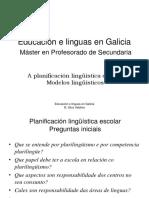 PLE_Modelos lingüísticos escolares