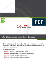 Módulo Vii - SQL - Dml