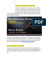 Rama Rehab de Addiction Centre in Delhi