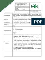 1. SOP Survey PHBS Tatanan Rumah Tangga