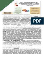 LIÇÃO 4 - O GRANDE DOADOR NOS DEU VALORES PARA PROTEGER LIDER [63763]