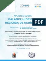 2018 apuntes balance hidrico y recarga acuifero