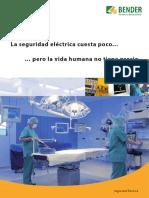 Bender - Seguridad eléctrica en hospitales - Catálogo de equipos.pdf