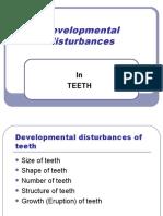 Developmental Disturbances of Teeth 2