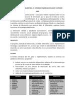IMPLEMENTACION DEL SISTEMA DE INFORMACION DE LA EDUCACION  SUPERIOR