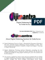 Digital Marketing Insitute in Noida Sector 18