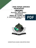 RKS - RKJM (EMPAT TAHUNAN) MAS AL ILMU ENDE.doc