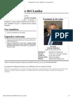 Presidente do Sri Lanka – Wikipédia, a enciclopédia livre.pdf