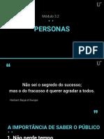 3.2 - Personas