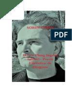 De Ce Plang Ingerii Iubirii?- Poezii Filozofice de Dragoste  Sorin Cerin  (Romanian edition)