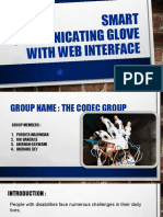 SPICE - Smart  glove with web interface (2)