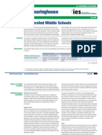 Accelerated Middle Schools - August 2007