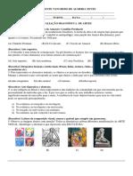 Avaliação diagnostica Artes 7°ano.docx
