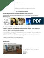 Avaliação diagnostica de Arte 9°ano.docx