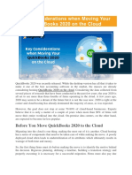 Key Considerations when Moving Your QuickBooks 2020 on the Cloud - Key Considerations For QuickBooks 2020 Cloud