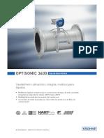 OPTISONIC 3400 - V2