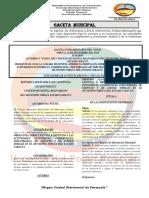 GACETA DE ACTIVIDADES ECONOMICAS