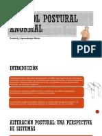 CONTROL POSTURAL ANORMAL