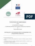 Cellule Déméter – Convention de partenariat signé entre le ministère de l'intérieur, la FNSEA et JA, 13 décembre 2019.