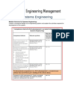 BSS 310 System Engineering