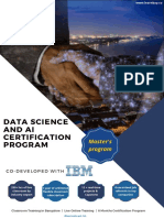 IBM Certified DataScience and AI Learnbay Master Program