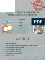 qualitycontrolmeasuresinpharmaceuticalindustry-160122165242