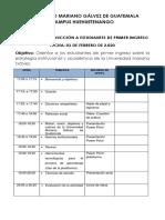 PROGRAMA DE INDUCCIÓN -2020-