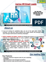 North America HR EmailLeads