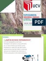 7.- SESION VII . LEVANTAMIENTOS CON NIVEL TOPOGRAFICO - copia.pptx