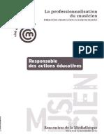 action éducatives et médiation culturelle