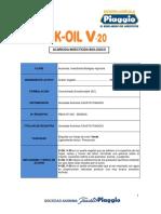 K--OIL-V-20