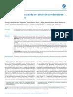 Atenção primária à saúde em situações de desastres