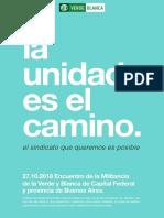 CONCLUSIONES - Plenario Metropolitano de la Verde y Blanca