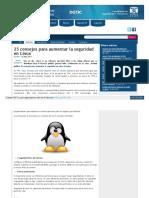 25 consejos para aumentar la seguridad en servidor linux.pdf