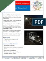 Advertencia de Seguridad - Accidente vehicular Inspeccion Obra. - copia