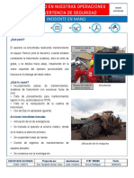 Advertencia de Seguridad - Aprisionamiento dedo- Cadena transmisión Trencor (Rev 04) - copia