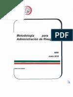 METODOLOGIA ADMINISTRACION RIESGOS