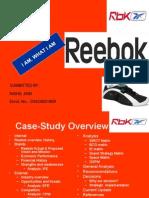 Reebok - PROJECT - Nikhil Jain