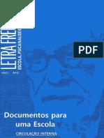 Letra Freudiana Nº 0 - Lacan - Documentos Para Uma Escola