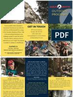 Outdoor Adventures Brochure - Multi Colour