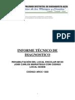 INFORME TÉCNICO DE DIAGNÓSTICO