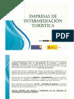 empresas de intermediacion turistica